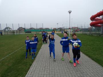 Galeria Finały gminne w piłce noznej chłopców szkół podstawowych 05.04.2017