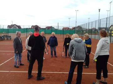 Galeria Tenis ziemny seniorów 04.10.2017