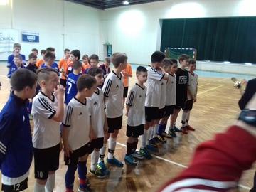 Galeria halowa piłka nożna fin. woj 07.12.2017