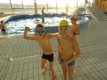 Galeria Noworoczne rodzinne zawody pływackie 06.01.2018