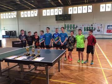 Galeria tenis stołowy drużynowy finał woj. 15.03.2018