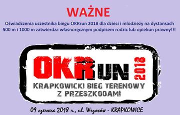 Galeria OKRrun 2018 galeria