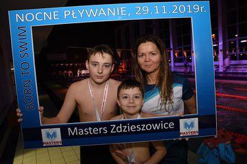 Galeria Nocne pływanie w Zdzieszowicach 29.11.2019