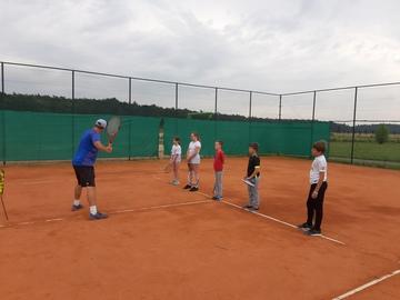 Galeria Wakacje z Delfinem - tenis ziemny 2020