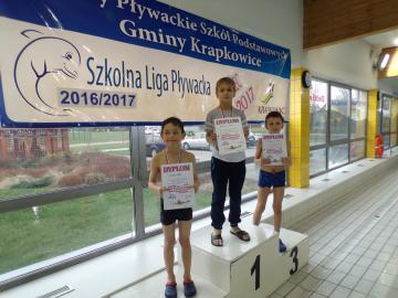 Galeria Szkolna Liga Pływacka  4 seria 30.03.2017